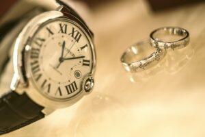 二つの結婚指輪